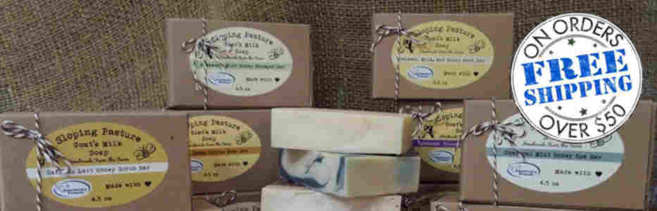 Sloping Pasture Goat's Milk Soap